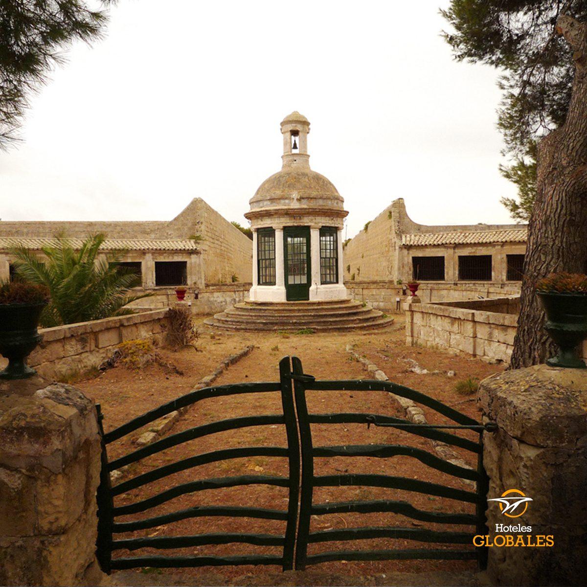 Visita al lazareto capilla menorca