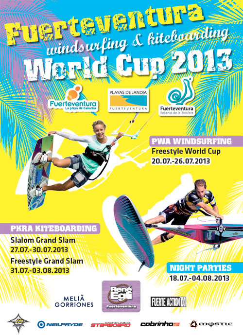Campeonato Mundial de Windsurfing y Kiteboarding 2013
