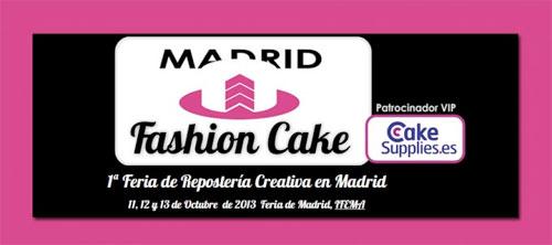 Feria de Reposteria Creativa 2013 en Madrid