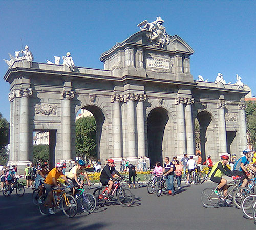 RUTAS CICLOTURISMO MADRID CARRILES BICI MADRID