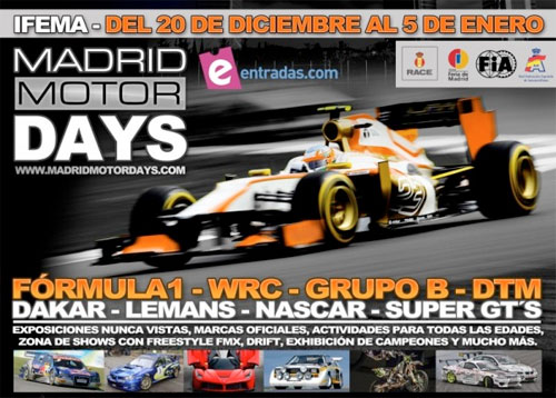 MADRID MOTOR DAYS 2013 IFEMA