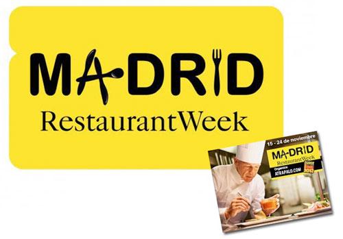 Madrid Restaurant Week Noviembre 2013