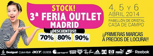 Feria Outlet de Madrid 2014