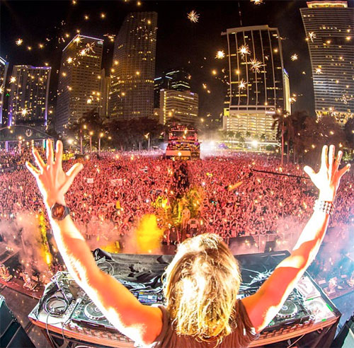 concierto de David Guetta en Mallorca