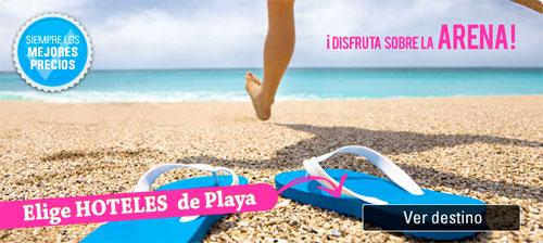 hoteles de playa en las vacaciones de verano 2014