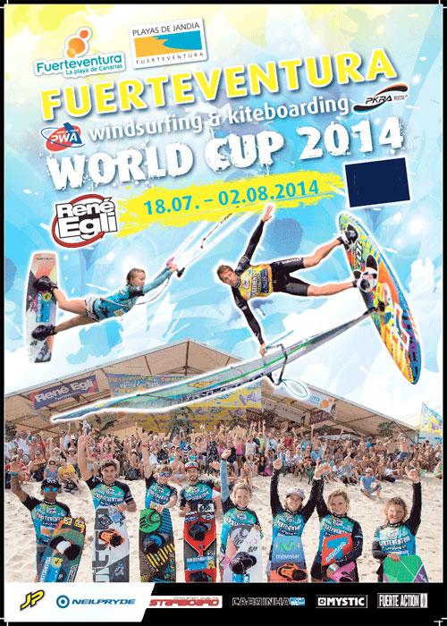 Windsurfing y Kiteboarding World Cup 2014 de Fuerteventura