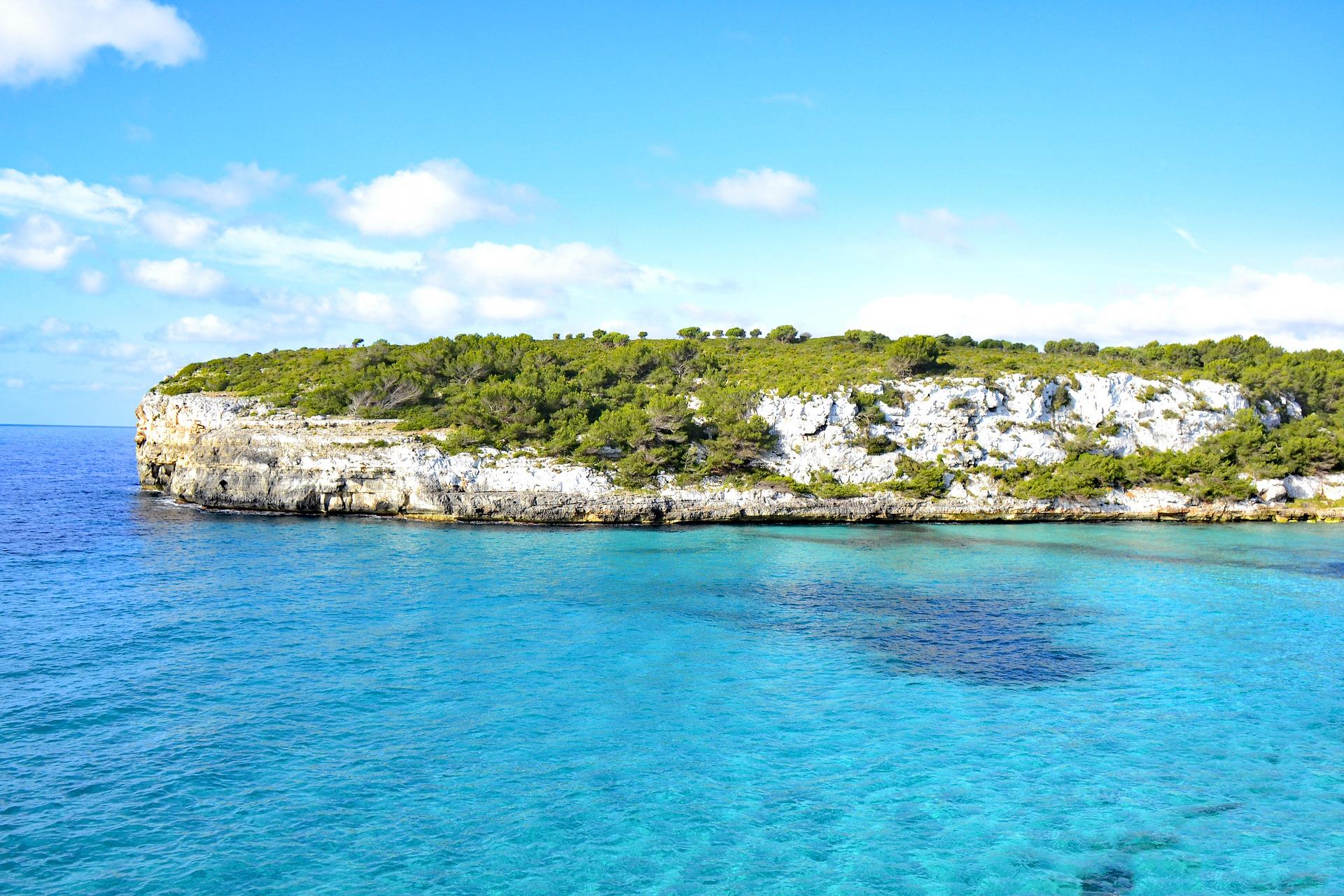Playa Romántica. Mallorca playas que enamoran