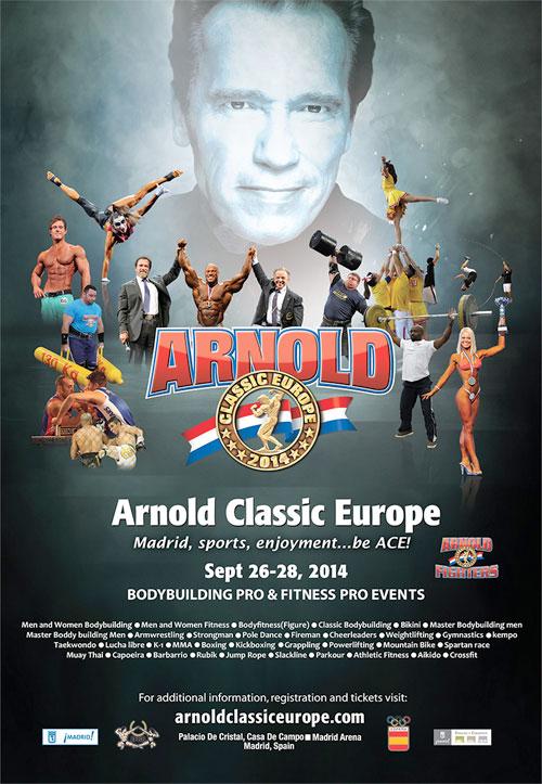 Arnold Schwarzenegger embajador madrid