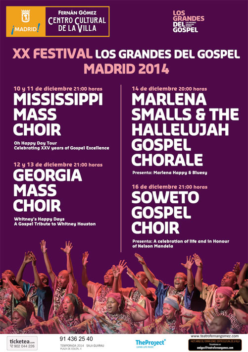 festival gospel madrid 2014