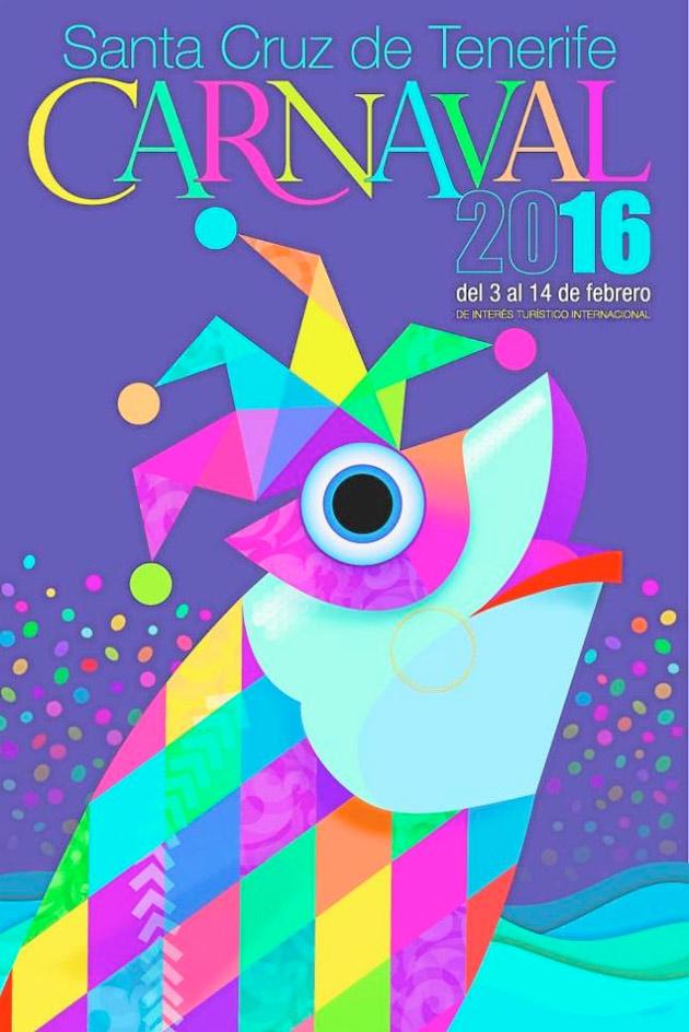 cartel carnaval tenerife 2016