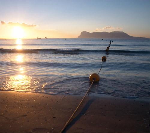 mejores playas en algeciras