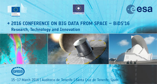 big data form space 2016 tenerife