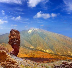 Parque Nacional de Garcia en Tenerife, Islas Canarias.