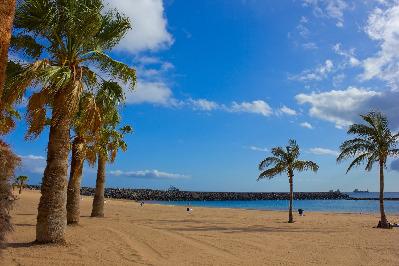 playa las Teresitas, Tenerife, Spain