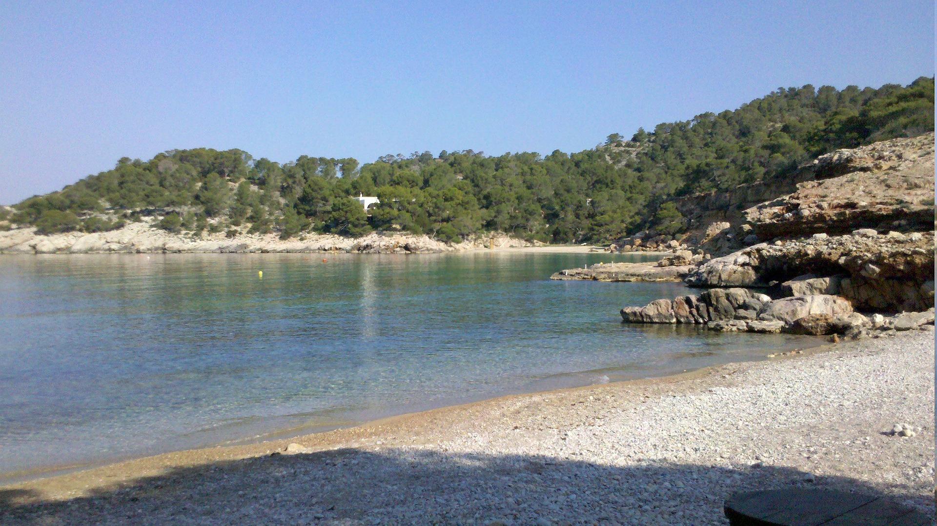 Las mejores calas de Ibiza, cala Salada
