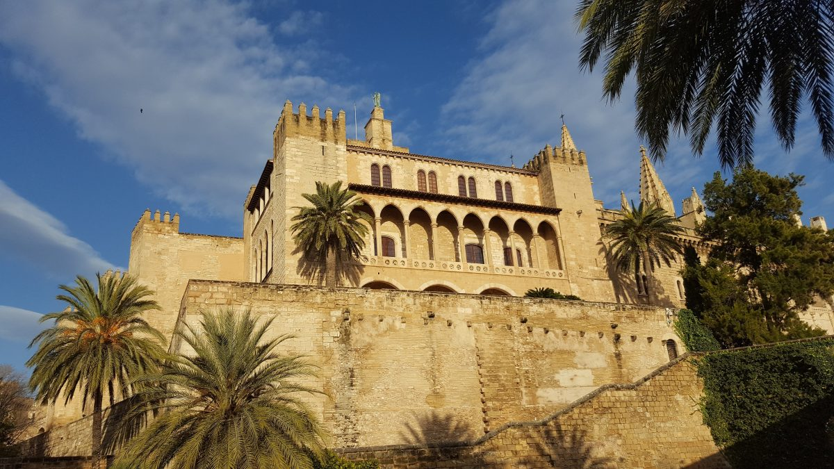 Visita al palacio de la Almudaina