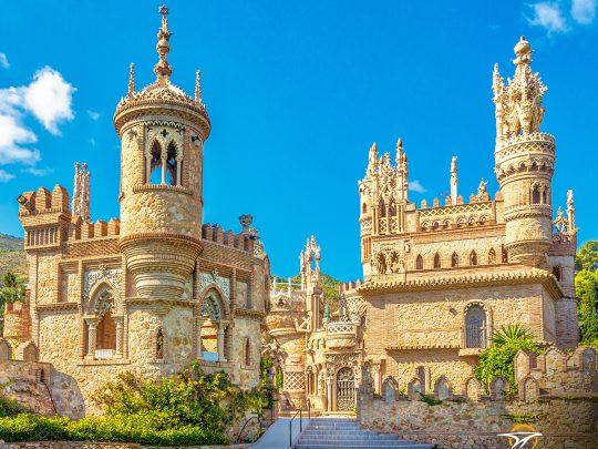 Qué ver en Benalmádena: El castillo de Colomares.