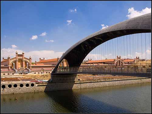 Puente del Matadero. Madrid Río