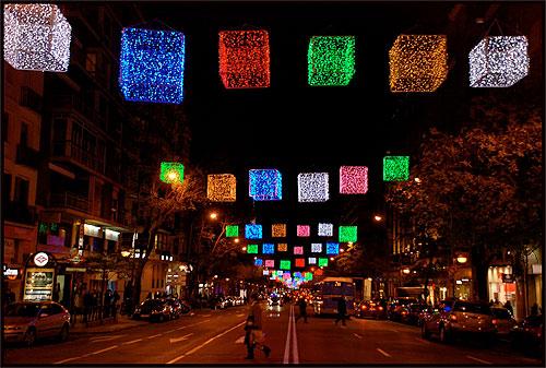 Compras de Navidad 2012 en Madrid. Hoteles en Madrid
