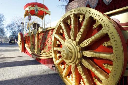 Cabalgata de Reyes Magos Madrid 2013