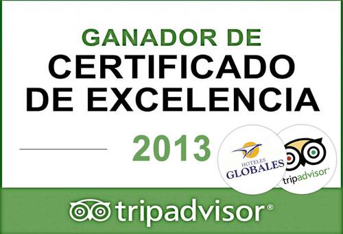 HOTELES GLOBALES TRIPADVISOR CERTIFICADOS DE EXCELENCIA