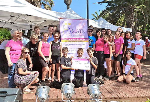 Hoteles Globales colabora con la asociacion AMATE en la lucha contra el cancer de mama