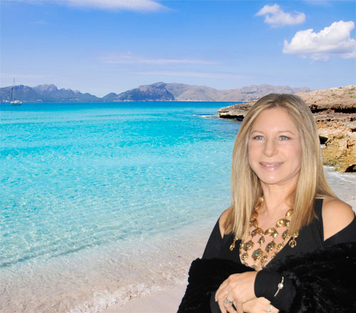 Barbra Streisand en Mallorca