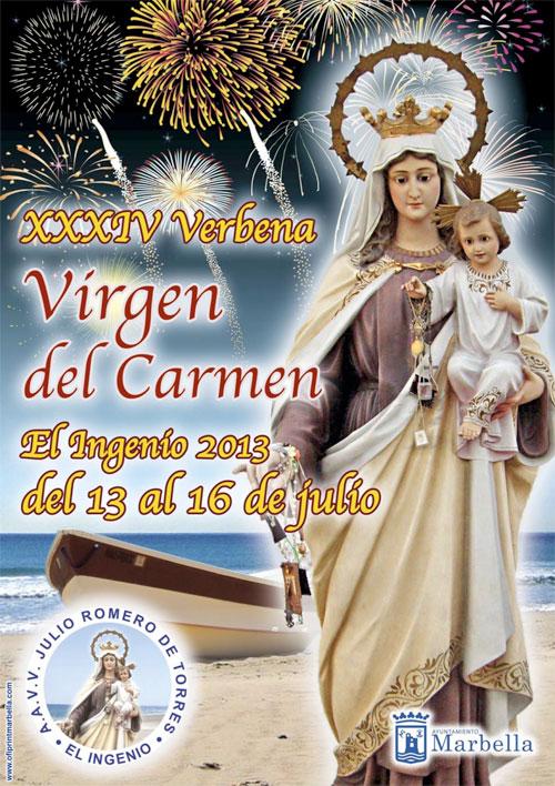 FIESTAS VIRGEN DEL CARMEN MARBELLA 2013