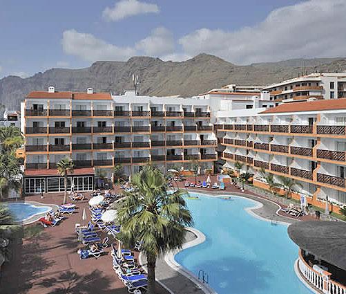 HOTELES APARTAMENTOS PUERTO SANTIAGO TENERIFE LOS GIGANTES