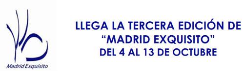RESTAURANTES DE MADRID EXQUISITO 2013
