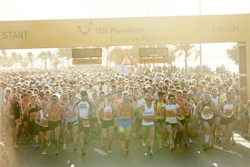 X Maratón TUI de Palma de Mallorca 2013