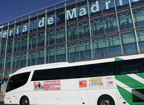SHOPPING BUS IFEMA HOTELES MADRID COMPRAS