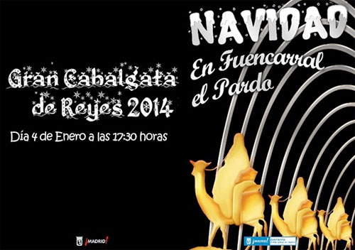 CABALGATA REYES MAGOS MADRID 2014