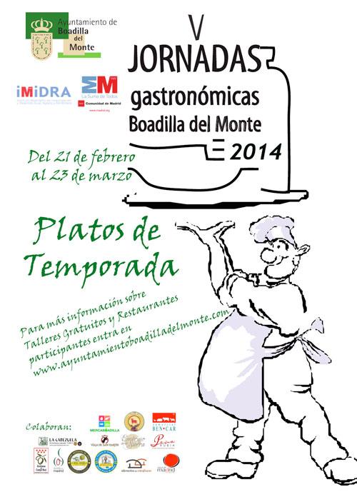 V Jornadas de Gastronomía de Boadilla 2014