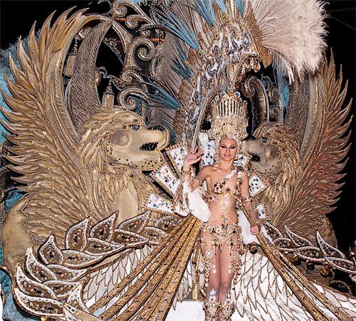 gala reina carnaval tenerife 2014