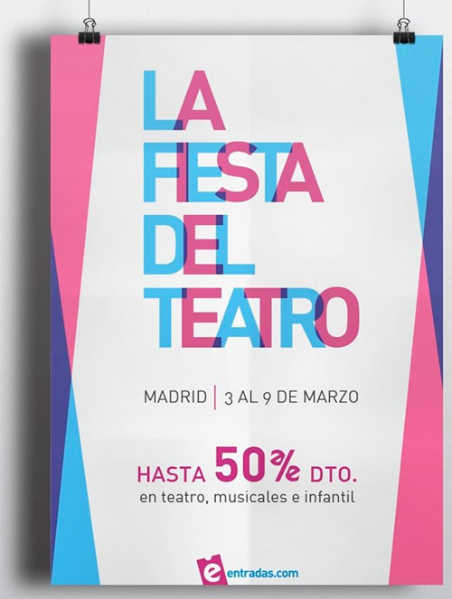 fiesta del teatro madrid 2014 entradas mitad precio