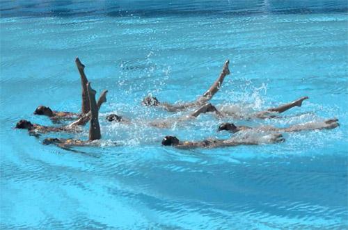 mallorca natacion sincronizada