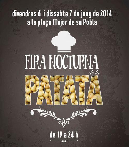 Feria de la Patata de Sa Pobla 2014