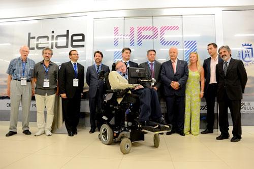 Stephen Hawking Tenerife