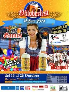oktoberfest palma mallorca 2014