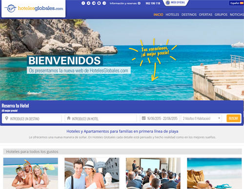 web hoteles globales