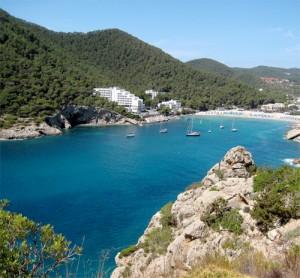 cala llonga en Ibiza