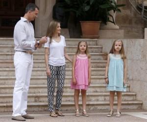 familia real en mallorca