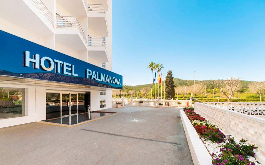 hoteles familiares en playa palmanova mallorca