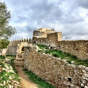 el castillo de santueri en mallorca