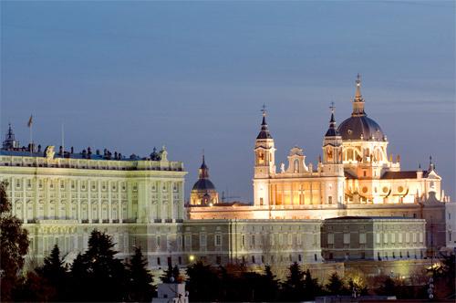 palacio real de madrid navidad
