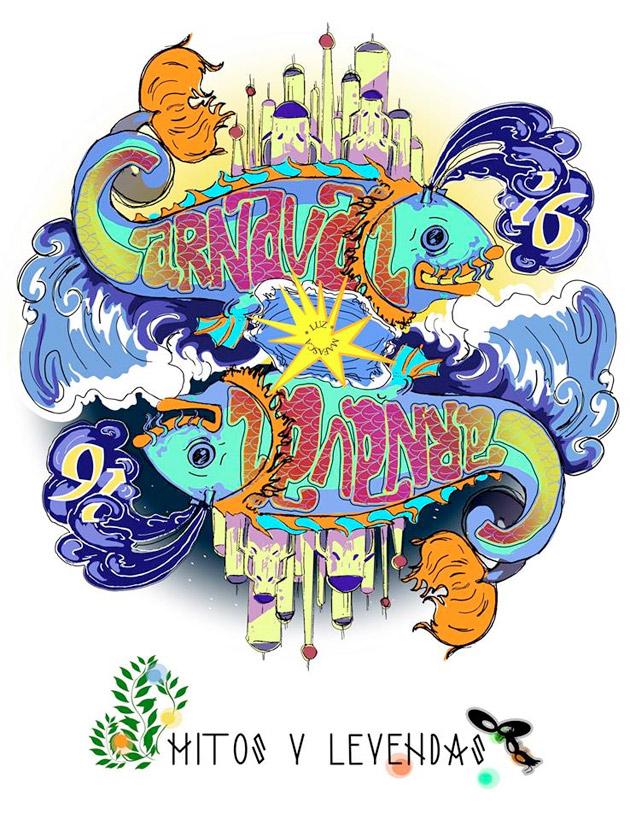cartel carnaval puerto del rosario