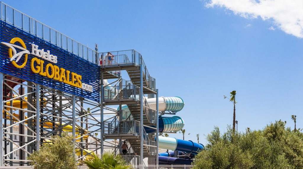 Globales Bouganvilla Hotel en Mallorca con parque acuático