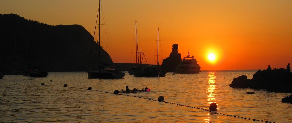 cala benirrás, las mejores calas de Ibiza