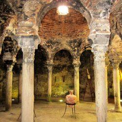 visita a los baños árabes de palma interior